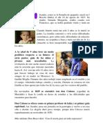 Biografía de Don Bosco