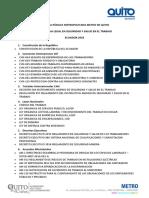 Normativa Legal en Seguridad y Salud en El Trabajo Ecuador
