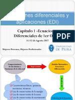 Ecuaciones Diferenciales de Primer Orden 12-08-17