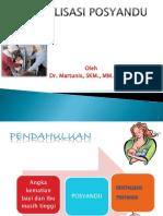15 Modul PTM 15 Revitalisasi Posyandu Lanjutan