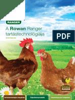A Rowan Ranger Tartástechnológiája 2016 Február
