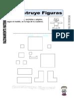 Ficha de Construir Figuras Para Primero de Primaria