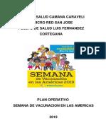 Plan de Las Americas 2019