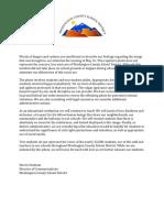 Washington County School District statement
