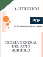 Clase 1 - Teoria Del Acto Juridico