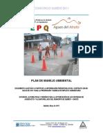 PMA Plan de Manejo Ambiental Quibdo_ 11052017