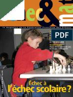 Échec et mat le Nº 83 - Fédération Française des Échecs