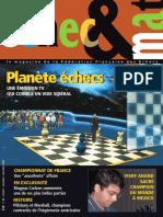 Échec et mat le Nº 90 - Fédération Française des Échecs