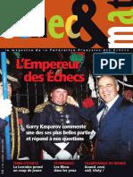 Échec et mat le Nº 96 - Fédération Française des Échecs