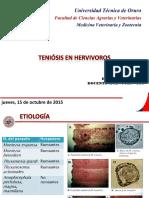 Teniosis en Hervivoros