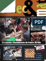 Échec et mat le Nº 121 - Fédération Française des Échecs