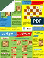 Les régles du jeu d'échecs