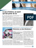 Le Cahier de la Fédé le Nº 3 - Fédération Française des Échecs