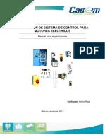 Manual Instalación de Sistema de Control Para Motores Eléctricos 2013