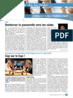 Le Cahier de la Fédé le Nº 20 - Fédération Française des Échecs
