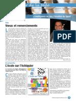 Le Cahier de la Fédé le Nº 23 - Fédération Française des Échecs