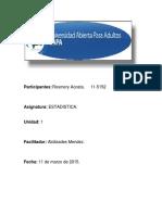 UNIDAD I. Estadística.doc
