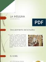 avances sientificos insulina