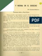"""Cayetano Betancur, """"Imperativo y Norma en El Derecho"""", Revista Universidad de Antioquia, No. 60, 1961"""