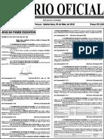 Diario Oficial 09-05-2019