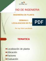 SEMANA 05 Localización de Planta