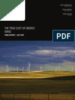 Report True Cost of Wind1