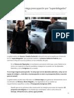 07-11-2018 Claudia Pavlovich niega preocupación por superdelegados de nuevo Gobierno-Unotv