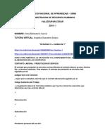 ADMINISTRACIÓN DE RECURSOS HUMANOS- Actividad 4 - Evidencia 1 - ForO TEMATICO