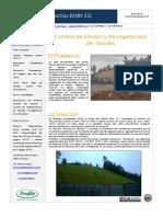 Boletín Control de Erosión - Valle Las Monjas, Concepción EMIN