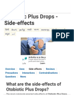 Otobiotic Plus Drops - Side-effects - Entod Pharma - TabletWise - India