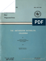 19.the Antioquian Batholith OLD