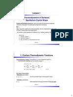 Lecture1 Intro Thermodynamics