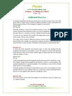 11 Physics NcertSolutions Chapter 4 Exercises Additional TAsdasdasd