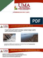 Contaminacion de Rios y Lagos