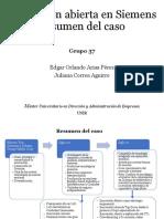 Presentación caso Siemens
