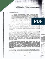 Corpuz&de Guzman - Is There a Philippine Public Administration