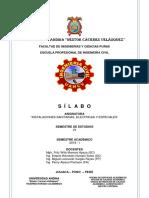 Silabo 2019 - i Inst. Sanit. Elect.