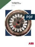 ABB AMS Synchronous Generators
