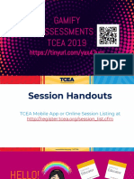gamify assessments tcea 2019