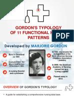 Gordons Typology