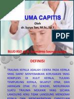 Trauma Kapitis Dr Surya Tan