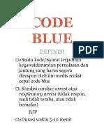 Pp Code Blue MEI 2019