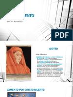 Masaccio y Giotto