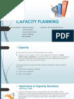 Capacity Planning Report