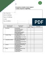 029_scaffolding Inspection Checklist