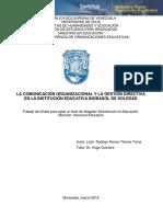 TESIS COMUNICACUIN ORGANIZACIONAL Y LA GESTION DIRECTIVA.pdf