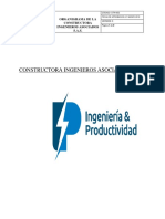 Organigrama Constructora Ingenieros Asociados s.a.s.