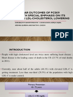Cardiovascular Outcomes of PCSK9 Inhibitors