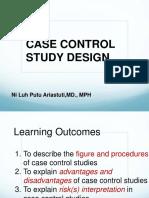 Lecture 14 Case Control