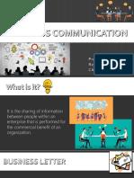 ENGL2 Business Communication